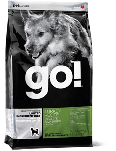 GO! SENSITIVITY + SHINE Turkey Recipe Dry Dog Food