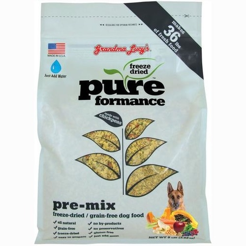Grandma Lucy Grain Free Freeze Dried PureFormance Pre-Mix