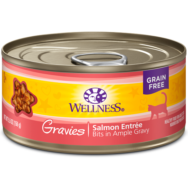 Wellness Canned Cat Complete Health™ Gravies Salmon Dinner