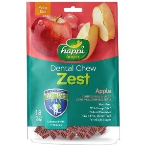 Happi Doggy Dental Chew - Zest Petite Apple 2.5inch