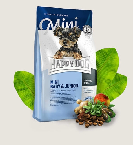 HAPPY DOG Supreme Mini Baby & Junior Gluten Free Dry Dog Food