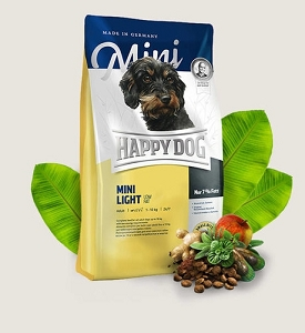 HAPPY DOG Supreme Mini Light Low Fat Gluten Free Dry Dog Food