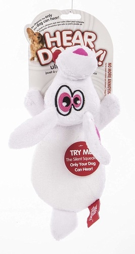 Hear Doggy White Rabbit Toy