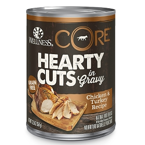 Wellness Hearty Cuts In Gravy Chicken & Turkey Recipe Canned Dog Food