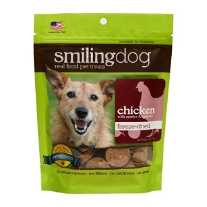 Herbsmith Freeze Dried Chicken, Apples & Spinach Dog Treats 2.5oz
