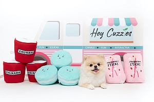 Hey Cuzzies Hide & Seek  Hey Cuzzies Sweet Tooth Collection