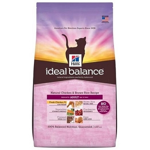 Hill's™ Ideal Balance™ Natural Chicken & Brown Rice Recipe Adult Dry Cat Food