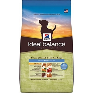 Hill's Ideal Balance Natural Chicken & Brown Rice Recipe Puppy Dry Dog Food