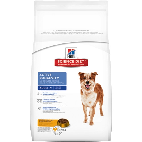 Hill's Science Diet Adult 7+ Active Longevity Original Dry Dog Food
