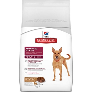 Hill's Science Diet Adult Advanced Fitness Lamb Meal & Rice Recipe Dry Dog Food
