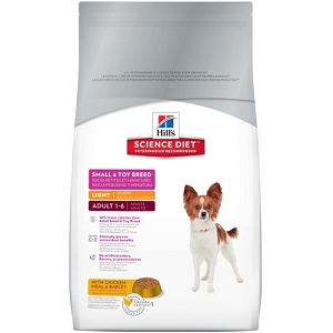 Hill's Science Diet Adult Light Small & Toy Breed Dry Dog Food