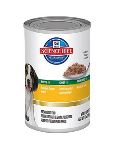 Hill's Science Diet Puppy Canned Gourmet Chicken Entree