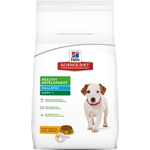 Hill's Science Diet Puppy Healthy Development Small Bites Lamb Meal and Rice Recipe Dry Dog Food