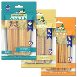 Himalayan Pet Supply Churro Cheese Dog Chew Soft Density Treats 113.4g