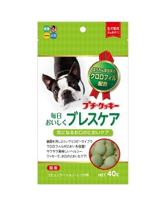 Hipet Petite Cookie With Breath Care 40gm