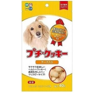 Hipet Petite Cookie With Cheese Dog Treats 40gm