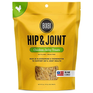 Bixbi Hip & Joint Jerky Grain Free Dehydrated Dog Treats