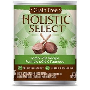 Holistic Select Canned GRAIN FREE Lamb Pate