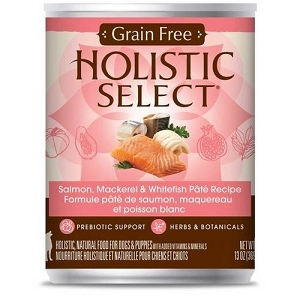 Holistic Select Canned GRAIN FREE Salmon, Mackerel & Whitefish Pate