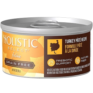 Holistic Select GRAIN FREE Feline Turkey Pate