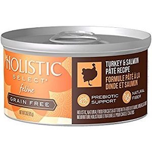 Holistic Select GRAIN FREE feline Turkey & Salmon Pate