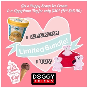 [Bundle SALE!] Puppy Scoops & ZippyPaws at only $30!