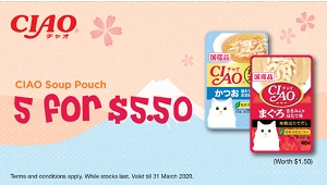 [MARCH PROMO - BUY 5 Free 1] Ciao Soup Pouch
