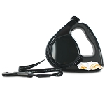 L'Chic Poop-bag Retractable Leash