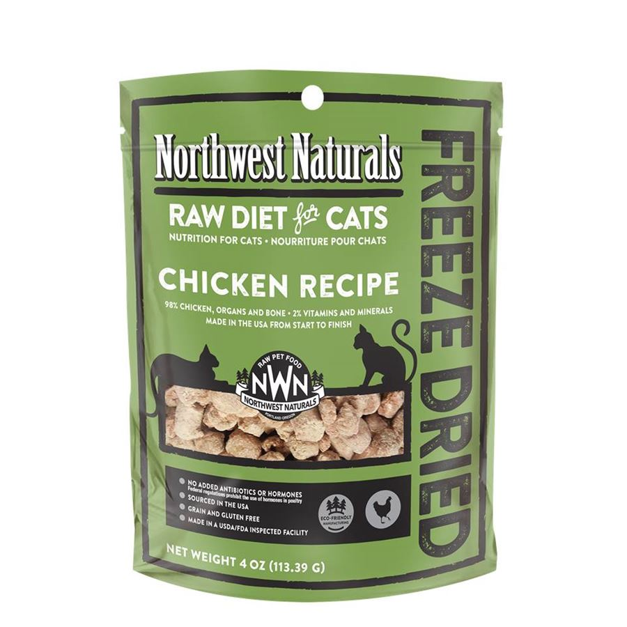 Northwest Cat Chicken Freeze Dried Nibbles 4oz