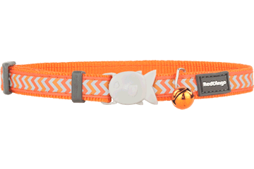 Red Dingo Cat Reflective Collar New