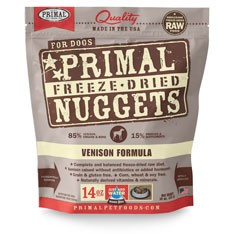 Primal Freeze Dried Canine Venison Formula