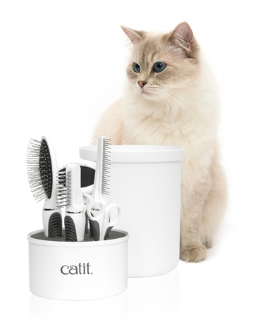 Catit Long Hair Grooming Kit