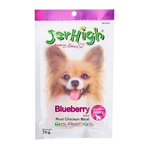 JerHigh Blueberry Fruity Stick Dog Treat