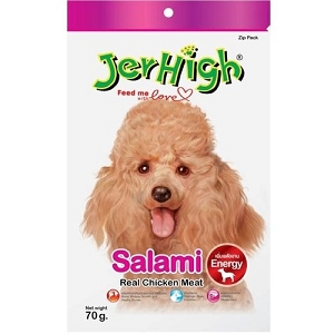 JerHigh Salami Soft Snack Dog Treat