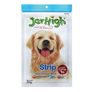 JerHigh Strip Dog Treat