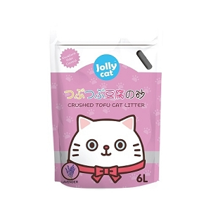 Jolly Cat Crushed Tofu Cat litter