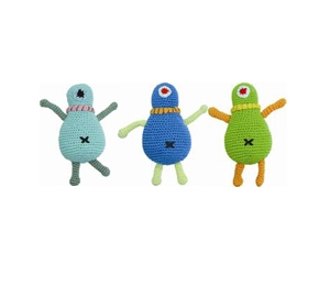 JU-BE One-Eyed Monster Plush Toy