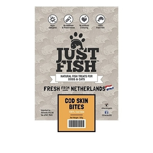 Just Fish Cod Skin Bites Dog & Cat Treats
