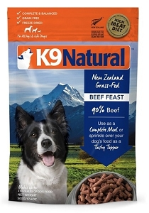 [CLEARANCE SALE - Expiry 29 Aug 2020] K9 Natural Freeze Dried Beef 500gm