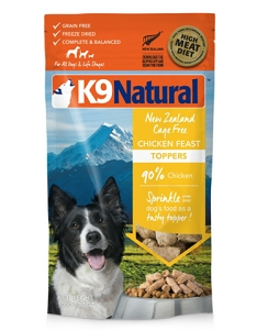 K9 Natural Freeze Dried Chicken Topper 100g