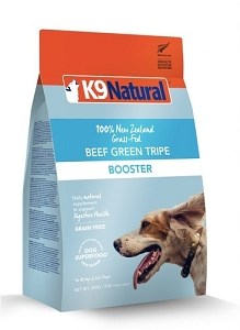 K9 Natural Freeze Dried Green Beef Tripe Booster 250gm