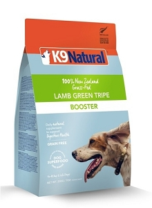 K9 Natural Freeze Dried Green Lamb Tripe Booster 200gm