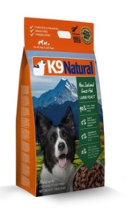 K9 Natural Freeze Dried Lamb 1.8kg
