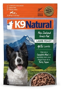 K9 Natural Freeze Dried Lamb 500gm