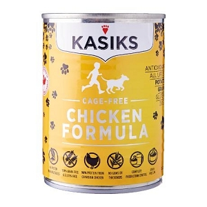 KASIKS Canned Grain Free Cage-Free Chicken Formula