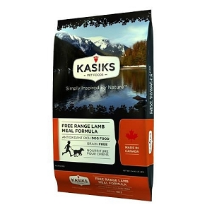 Kasiks Free-Range Grain Free Australian Lamb Meal Dry Dog Food