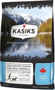 Kasiks Grain Free Wild Pacific Ocean Fish Meal Dry Dog Food