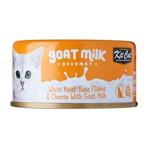 Kit Cat Canned Goat Milk Gourmet Tuna And Cheese Cat Food