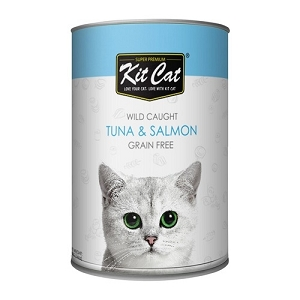 KitCat Canned Super Premium Atlantic Tuna With Wild Salmon Cat Food