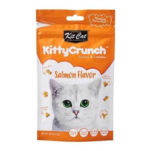 Kit Cat KittyCrunch Cat Bites (Salmon)